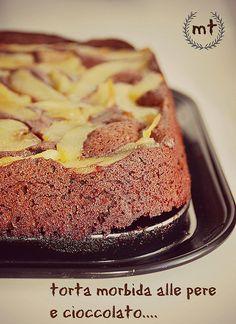 Menuturisrico: torta di pere e cioccolato