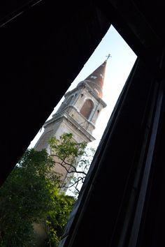 The bell tower....Poveglia Island