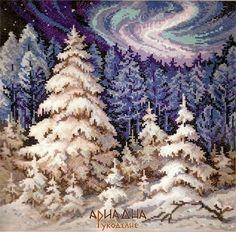 http://gallery.ru winter aurora