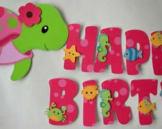 Girl Turtle Birthday Party | CatchMyParty.com