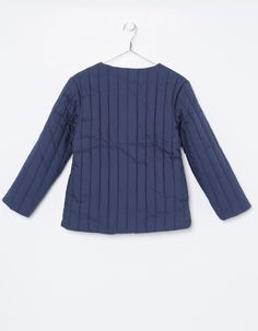 NECK & NECK    GIRL NAVY BLUE SPRING COAT - Outerwear - GIRL