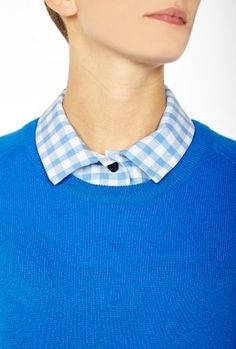 Gingham Collar by Carven