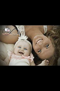 mother toddler daughter photo ideas | Mother & daughter picture