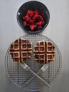 ... Waffles on Pinterest   Waffles, Waffle Recipes and Belgian Waffles