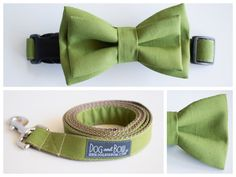 Olive Wedding. Olive Pet Accessories!