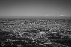 Landscape of Milan At Take Off From Linate Airport