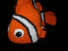 Crochet Nemo hat