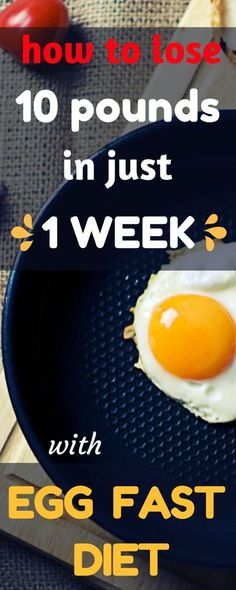 egg fast diet to lose weight fast and egg fast diet recipes
