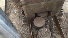 ENERPAT VBM 250 Vertical Metal Chips Briquetting Press