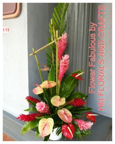 exotic flowers blue with pink veins Exotic Flowers, Tropical Flowers, Beautiful Flowers, Tropical Flower Arrangements, Church Flower Arrangements, Deco Floral, Floral Cake, Art Floral, Rose Thorns