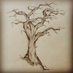 Tree tattoo sketch by - Ranz