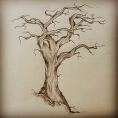 Tree tattoo sketch by - Ranz