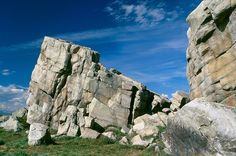 Big rock near okotoks