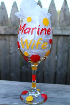 Custom Personalized Military Marine Wife & Marine by ahindle78, $10.00