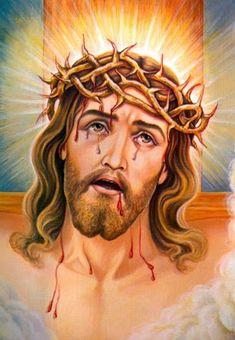 Christ Tattoo, Jesus Tattoo, Cross Pictures, Pictures Of Jesus Christ, Christ In Me, Christ The King, Religious Tattoos, Religious Art, Jesus Drawings