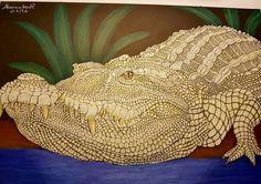 Crocodile by Alexandra R.
