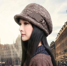 f8bc0f7f02f 2015 bow knit bucket hat for winter womens ear protection