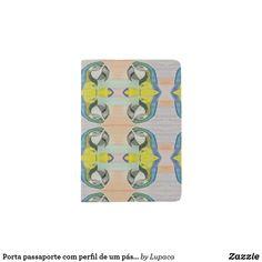 Carried passaporte COM perfil of um pássaro Passport Holder Passport Holders, Passport Wallet, Travel Style, Cover, Passport, Profile