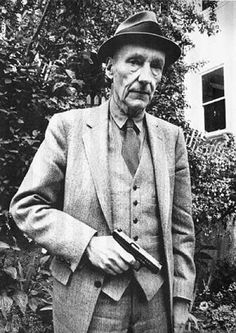 """ William S. Burroughs I wonder if this was before or after he shot his wife. """