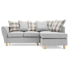 Ashbourne Fabric Corner Sofa Next Day Delivery