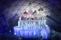 Tatranský ľadový dóm udržujú vo forme a dúfajú, že ho v apríli budú môcť ešte sprístupniť - Akčné ženy Louvre, Building, Travel, Viajes, Buildings, Destinations, Traveling, Trips, Construction