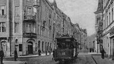 """ul. Dworcowa; source: """"Bydgoszcz - podróż w czasie"""" aut. Maciej Jaczyński"""