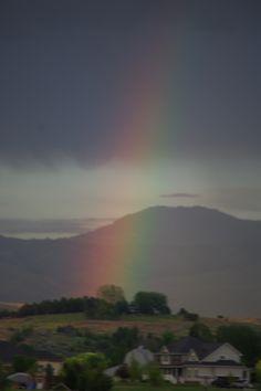 Beautiful rainbow after a rain....Ballantyne
