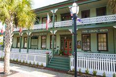 Florida House Inn, Fernandina Beach, FL So cute!