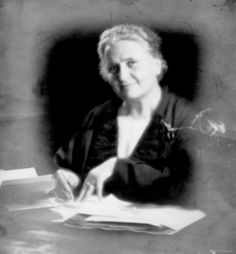 """""""The greatness of the human personality begins at the hour of birth."""" Maria Montessori"""