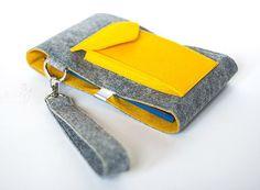 DIY Tutorial. Clutch Bag of Felt