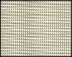 1 yard - Powder Grey Houndstooth - Premier Prints - Light taupe / white - Home Decor Weight - 1 yd. $10.00, via Etsy.