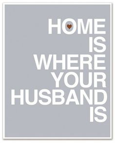 i love my hubby and my home~