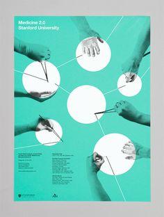 Client: Department of Medicine at Stanford University  Art direction and design: Derek Kim