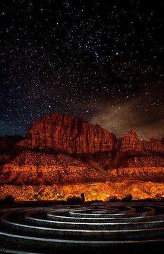 Orion's Labyrinth - Zion National Park Utah
