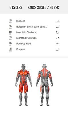 Full body strength challenge. Build muscle, switch your old routines.