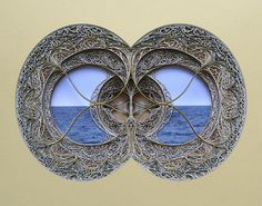 Eric Stanley cut paper (yes, really) art