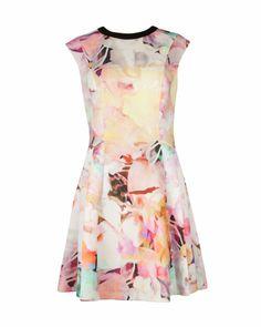 Electric day dream dress - Lemon | New Season | Ted Baker UK