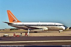 South African Airways (SA / SAA) · Port Elizabeth (PLZ / FAPE), South Africa · Steve Aubury - 15/08/1973 South African Air Force, Passenger Aircraft, Port Elizabeth, Airplanes, Nostalgia, Commercial, Type, Pictures, Planes