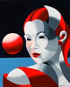 Dark Matter Oil Painting Series #8 by artist Mark Webster. Found on the FASO Daily Art Show -- http://dailyartshow.faso.com