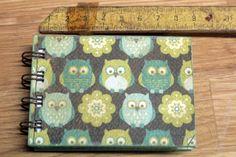 Mini cuaderno Buhos
