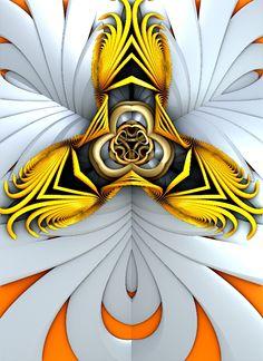 """""""Orchid"""" 3d fractal art Mandelbulb3d Paul Griffitts http://www.frackxion.com"""