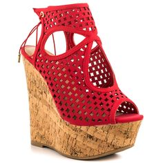 Alcee - Red JustFab $54.99