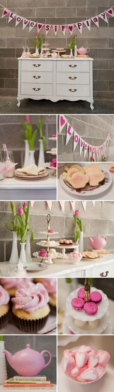 Perfectly Pink Tea Party- I think this would be a fun idea for my juniors to put on for a daisy troop!