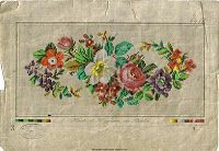 Lovely Victorian charts - designed for needlepoint or crossstitch
