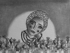 Pretty woman from Baghdad #hasnaatabra # art