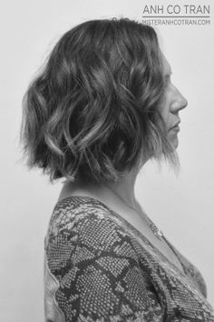 LA: A TRANSFORMATIVE CUT FROM A TRUE PROFESSIONAL AT RAMIREZ|TRAN. Cut/Style: Anh Co Tran. #ramireztransalon #hair #blackandwhite #hairdresser #besthairinla #besthairinnyc #bob