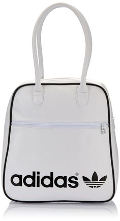 Adidas Women's Adicolor Bowling Bag - White/Black SAVE 62% NOW £15
