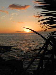 Sunset at Paradise Cove Luau