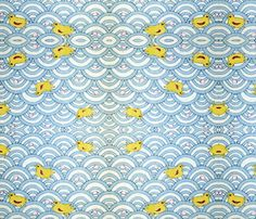 Chicks fabric by quinnanya on Spoonflower - custom fabric
