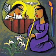 He Qi's Annunciation